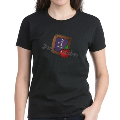 Best Teacher Women's Dark T-Shirt