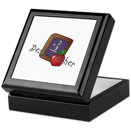 Best Teacher Keepsake Box