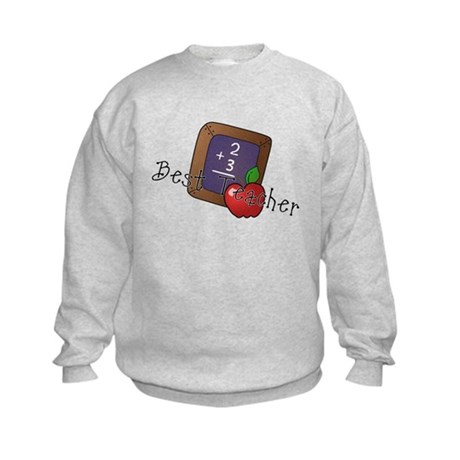 Best Teacher Kids Sweatshirt