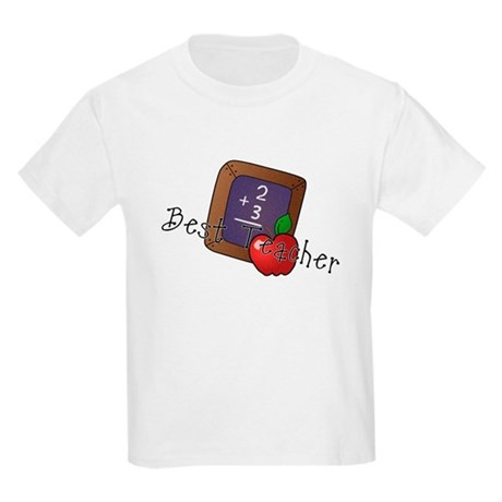 Best Teacher Kids Light T-Shirt