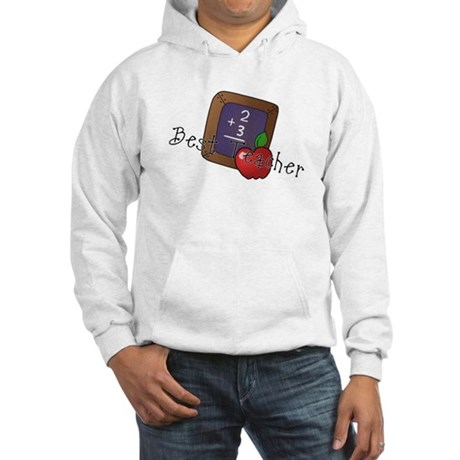 Best Teacher Hooded Sweatshirt
