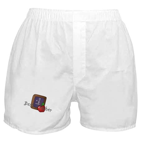 Best Teacher Boxer Shorts