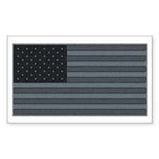 US Flag Urban Patch Rectangle Decal