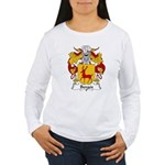 Berges Family Crest Women's Long Sleeve T-Shirt