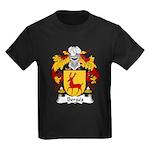 Berges Family Crest Kids Dark T-Shirt
