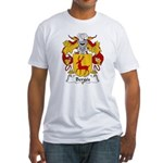 Berges Family Crest Fitted T-Shirt
