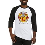Berges Family Crest Baseball Jersey