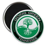 "Going Green Tennessee (Tree) 2.25"" Magnet (10 pack"