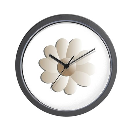 Pretty Daisy Wall Clock