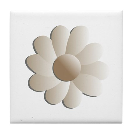 Pretty Daisy Tile Coaster