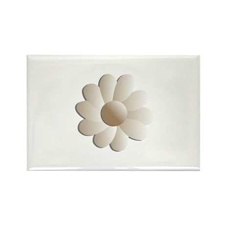 Pretty Daisy Rectangle Magnet