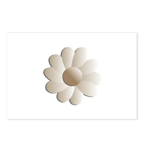 Pretty Daisy Postcards (Package of 8)