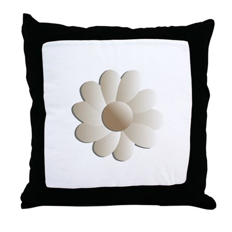 Pretty Daisy Throw Pillow