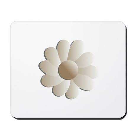 Pretty Daisy Mousepad