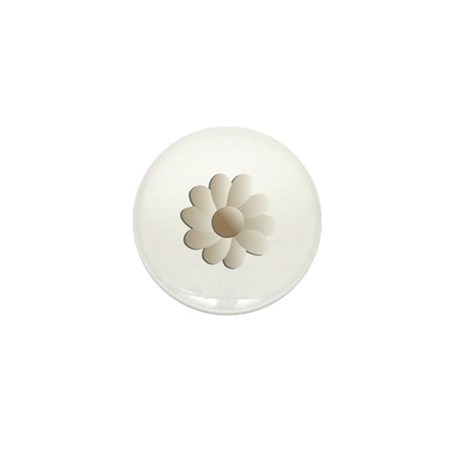 Pretty Daisy Mini Button (100 pack)