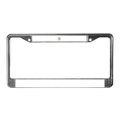 Pretty Daisy License Plate Frame