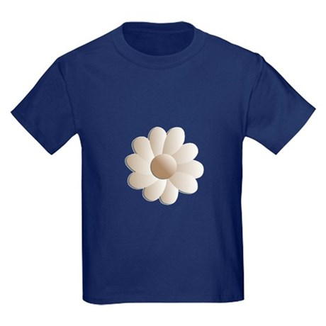 Pretty Daisy Kids Dark T-Shirt