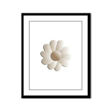 Pretty Daisy Framed Panel Print
