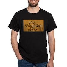 Underwrite 4 Beer T-Shirt