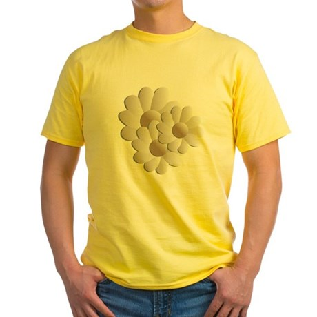 Daisy Trio - Sand Yellow T-Shirt