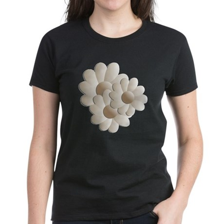 Daisy Trio - Sand Women's Dark T-Shirt