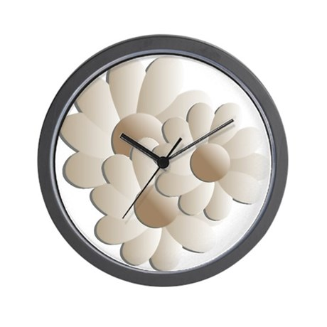 Daisy Trio - Sand Wall Clock