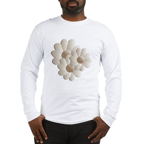 Daisy Trio - Sand Long Sleeve T-Shirt
