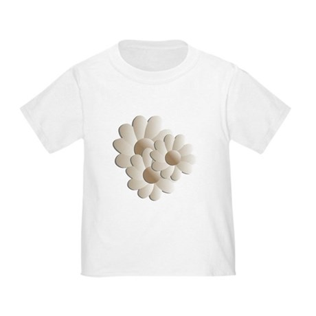 Daisy Trio - Sand Toddler T-Shirt