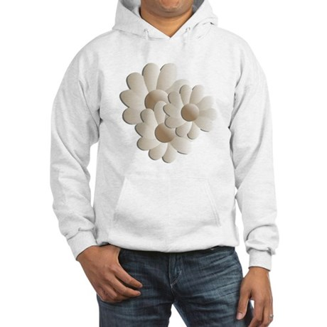 Daisy Trio - Sand Hooded Sweatshirt