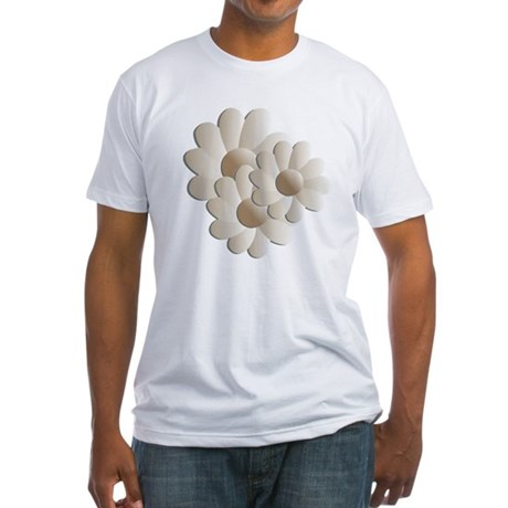 Daisy Trio - Sand Fitted T-Shirt