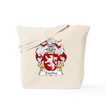 Bastida Family Crest Tote Bag
