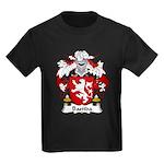 Bastida Family Crest Kids Dark T-Shirt