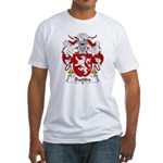 Bastida Family Crest Fitted T-Shirt