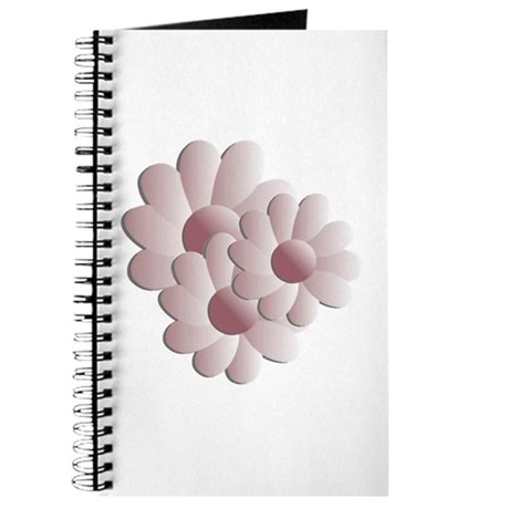 Pretty Daisy Trio - Pink Journal