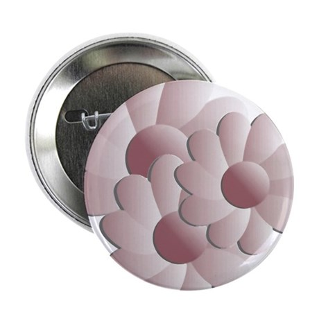 "Pretty Daisy Trio - Pink 2.25"" Button (100 pack)"