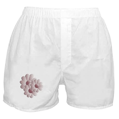 Pretty Daisy Trio - Pink Boxer Shorts