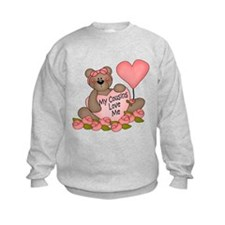 My Cousins Love Me CUTE Bear Sweatshirt