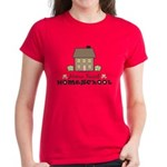 Home Sweet Homeschool Women's Red T-Shirt