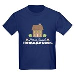 Home Sweet Homeschool Kids Navy T-Shirt