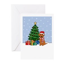 Vizsla Christmas Greeting Cards (Pk of 20)