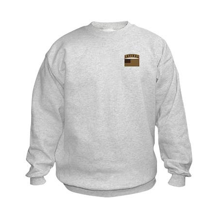 Desert US Infidel Patch Kids Sweatshirt