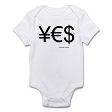 Cute Currency Infant Bodysuit