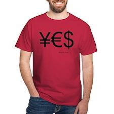 moneyblack2 T-Shirt