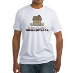 Home Sweet Homeschool Fitted T-Shirt