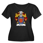 Barri Family Crest Women's Plus Size Scoop Neck Da