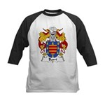 Barri Family Crest Kids Baseball Jersey