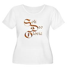 10x10SoliDeoGloria Plus Size T-Shirt