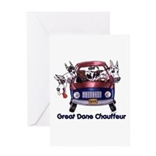 Dane Chauffeur Greeting Card