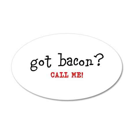 Got Bacon Wall Decal