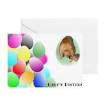Easter Bulldog Greeting Cards (Pk of 10)